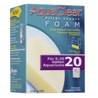 AquaClear Mini Filter Foam Insert, Size 20