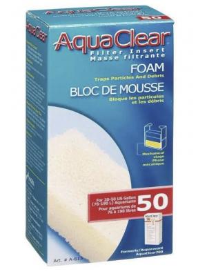 AquaClear Filter Foam Insert, Size 50