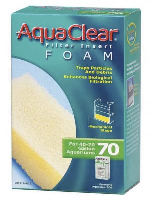 AquaClear Filter Foam Insert, Size 70