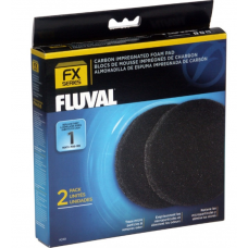 Fluval Carbon Impregnated Foam Pad for FX Series 2PK