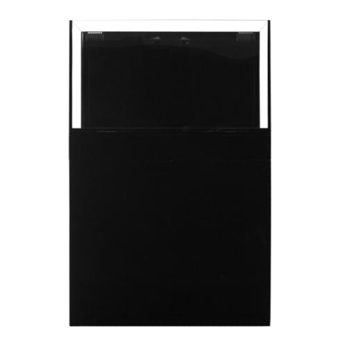 jbj rimless flat panel aio 65 gal aquarium and black stand