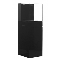 JBJ Rimless Flat Panel AIO 25 Gal. Aquarium and Black Stand