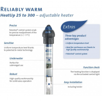 Oase 25 Watt HeatUp Aquarium Heater