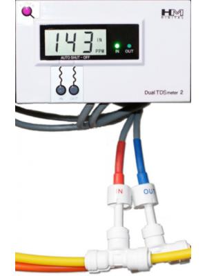 Deluxe Dual In-Line TDS Meter DM-2 by HM Digital