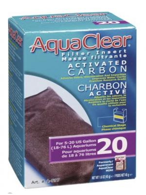 AquaClear Mini Carbon Filter Insert, Size 20