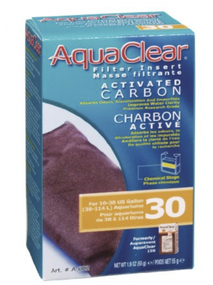 AquaClear Carbon Filter Insert, Size 30