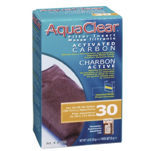 aquaclear mini carbon filter insert size 30