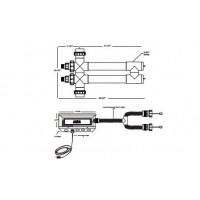 "Aqua UV Classic - 80 Watt Clarifier/Sterilizer with Wiper - Black - 2""- A00085"