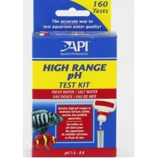 API Freshwater/Saltwater High Range pH Test Kit, Test kit of 250 tests