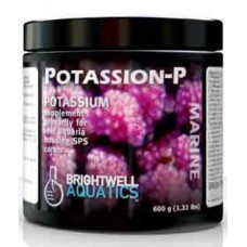 Brightwell Aquatics Potassion-P Dry Potassium Supplement for Reef Aquaria 600g / 21.2oz