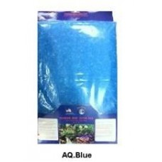 "10"" x 18"" Ammonia AquaGlobe Reducing Infused Media Pad Filter Aquarium (Blue)"