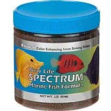 New Life Spectrum Marine Fish Formula 1mm Sinking Pellet Food 125 Grams