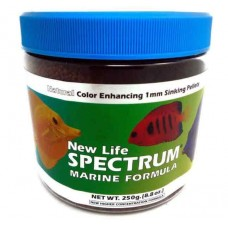 New Life Spectrum Marine Fish Formula 1mm Sinking Pellet Food 250 Grams