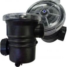 Teton XBS112 Basket strainer w/ 2 in slip intake & 1-1/2 mpt Discharge