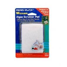 "AquaLife WIZARD Algae Scrubber Pad White 3"" x 4"" Acrylic Tanks"