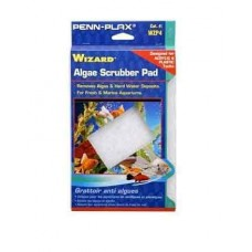 "AquaLife WIZARD Algae Scrubber Pad White 9"" x 6"" Acrylic Tanks"