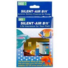 Penn Plax Silent Air B11 Auto On Battery Powered Air Pump